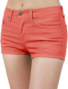 OEM Womens Chino Underwear Shorts Solid Color Mini Shorts pictures & photos