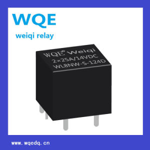 (WL8NW) Miniature Automotive Relay 14V Black Cover 4pins Suit for Automation System, Auto Parts pictures & photos