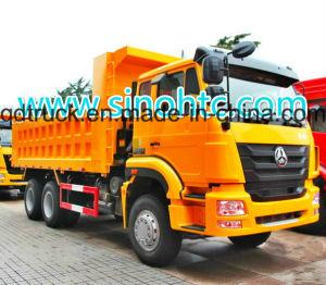 HOWO/HOHAN 6X4 Dump/Tipper Truck with Cimc Huajun Cargo Body pictures & photos