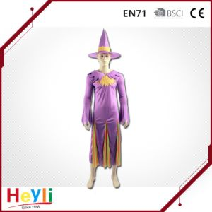 New Design Women Girls Halloween Party Witch Cosplay Costume pictures & photos