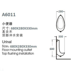 High Class Urinal Bottle Item: A6011 pictures & photos