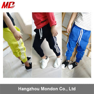 3 to 4 Line Sports Pants Trouser School Uniform pictures & photos