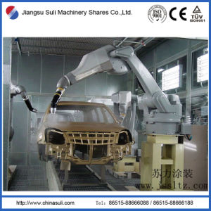 China Suli Shares Car Powder Spraying Booth for Coating Line