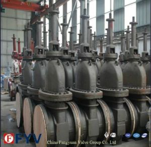 API 6D Cast Steel Slab Gate Valve pictures & photos