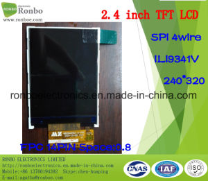 "2.4"" 240X320 Spi TFT LCD Screen, Ili9341V, 14pin for POS, Doorbell, Medical pictures & photos"