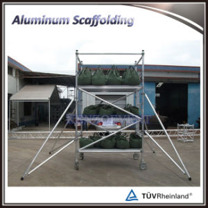 Light Weight Constructure Aluminum Mobile Scaffolding pictures & photos