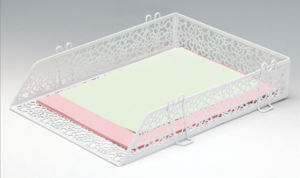 Chic Desk Accessories/ Metal Mesh Stationery File Tray/ Office Desk Accessories pictures & photos