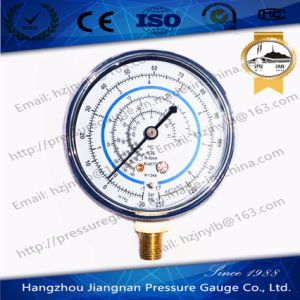 1.7MPa Vibration Free Refrigerant Pressure Gauge of R-22/R-404A/R-407c pictures & photos