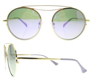 Italian Brand Sunglasses Round Own Brand Cheap Sunglass pictures & photos