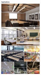 LED Linear Batten Light 60cm 18W 20W with Wider Beam Angle pictures & photos