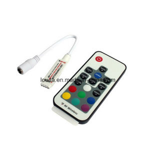 Mini 17 Keys RF Wireless Remote Dimmer RGB Controller pictures & photos