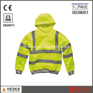 3m Reflective Tape Knitted Safety Sweatshirt pictures & photos