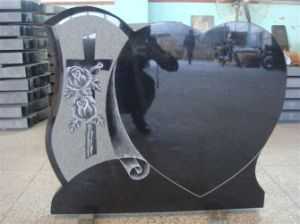 Gravestone, Shanxi Black Monument, Black Granite, Monument, Black Monument pictures & photos