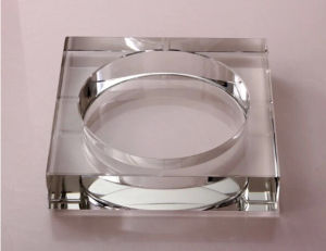 Exquisites Household Articles Square Crystal Ashtray pictures & photos