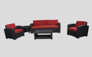 Hot Sale Plastic Garden Sofa, Leisure Sofa, Patio Sofa, Plastic Injection Sofa pictures & photos