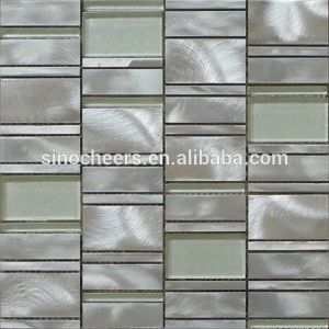 Strong Quality Bathroom Tiles Cheap Glass Mosaic Wholesale pictures & photos