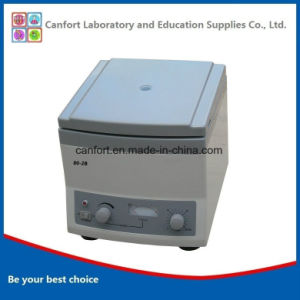4000rpm 20mlx12 Blood Plasma Centrifuge 80-2b with Good Quality pictures & photos