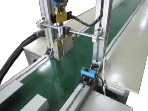 Automation Hot Melt Glue Dispensing Machine for Shoe (LBD-RDN001) pictures & photos