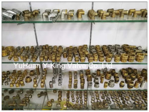 Female Thread Brass Elbow Compression Spanish Fitting (YD-6045) pictures & photos