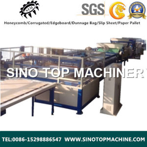 Good Quality Kraft Paper Honeycomb Board Laminated Machine pictures & photos
