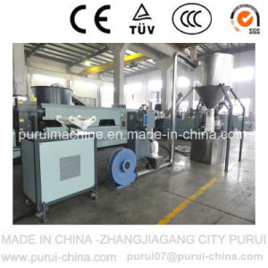 Agglomerated PE Film Recycling Equipment with Single Screw pictures & photos