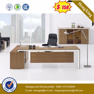 Light Oak Wooden Top Excutive Table Modern Office Furniture (HX-G0400) pictures & photos