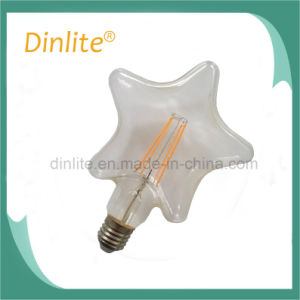 Beautiful Star decorative LED filament bulb on sale pictures & photos