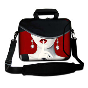 "Red Portrait 15"" 15.4"" 15.6"" Laptop Carry Bag Sleeve Case Pouch W/ Shoulder Strap pictures & photos"