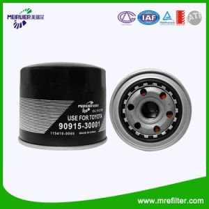 Best Selling Auto Oil Filter 90915-30001 for Toyota Engine pictures & photos