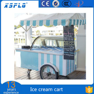 Azores and Madeira Ventilated Cooling System Ice Cream Cart pictures & photos