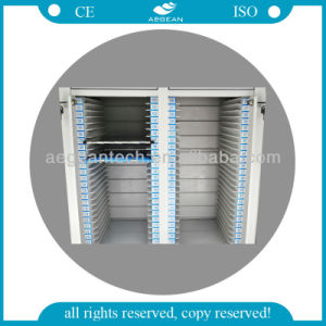 AG-Cht003 with Double Rows for Patient Recorder ABS Medical Trolley pictures & photos