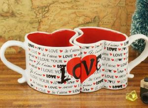 Novelty Ceramic Black and White Cups with Cheap Price pictures & photos