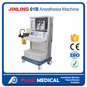 Automatic Anesthesia Machine with Two Big Vaporizer/Tank for Hospital pictures & photos