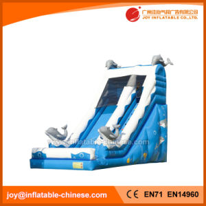 Inflatable Slide Inflatable Dolphin Slide Inflatable Kids Slide (T11-203) pictures & photos