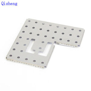 CNC Machining Part, Black or Clear Anodized, Customized Making pictures & photos