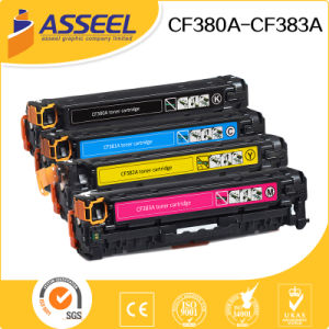 CF380A Series CF380X Premium Color Toner Cartridge for Use in HP Mfp M476dw/476dn/476nw pictures & photos