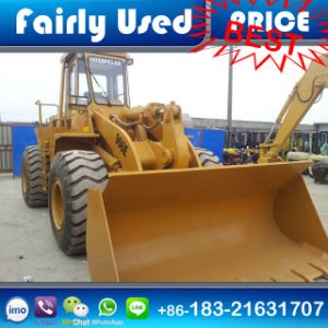 Good Condition Used Cat Wheel Loader 966e with Timber Grab