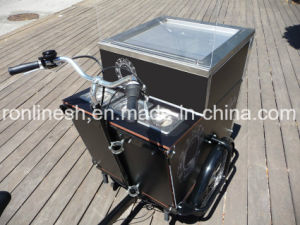 250W/350W/500W Electric or Pedal 3 Wheel Cargo Bike/Cargo Trike/Cargo Tricycle/Ice Cream Roll Tricycle/Cargo Bicycle/Icecream Roll Delivery Bike pictures & photos