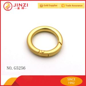 Zinc Alloy 1 Inch Metal O Ring Spring O Ring pictures & photos