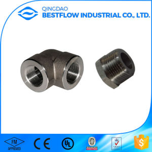 High Pressure ANSI B16.11 Forged Pipe Fitting pictures & photos