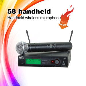 58 Singing UHF Professional Wireless Microphone pictures & photos
