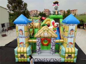 Iaapa Show Full Printing Animal Pirate Inflatable Playground for Kids pictures & photos