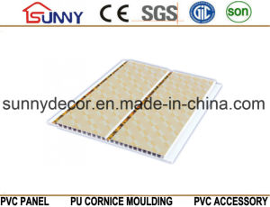 Printing PVC Ceiling Wall Panel / High Glossy PVC Ceiling Panel in China pictures & photos
