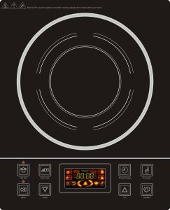 Colorful LCD Single Induction Cooker for Asia Market pictures & photos
