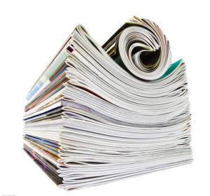 Staple Binding Custom Magazine Printing Book Printing pictures & photos