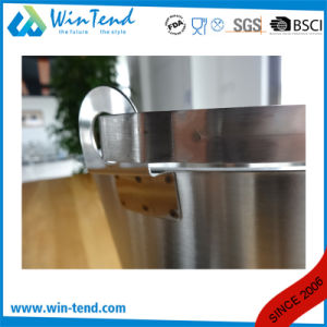Stainless Steel Engraved Inclined Bucket pictures & photos