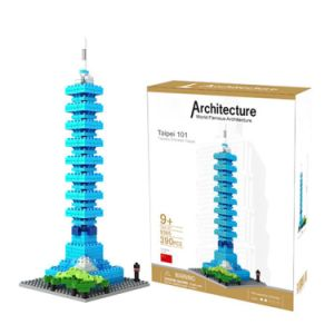 6739365-Taipei 101 Tower Building Block Educational Toy for Cooperative Ability - World Great Architecture Series - as The Picture pictures & photos