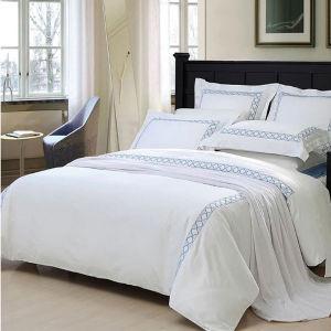 100% Cotton 300tc Plain White Hotel Textile Hotel Bed Linen pictures & photos