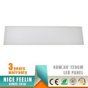 1200X300MM 40W LED Panel for Office Lighting with 5years Warranty pictures & photos
