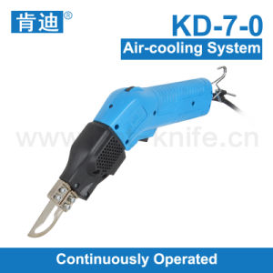 Air-Cooling System Hot Knife Polyester Cutter